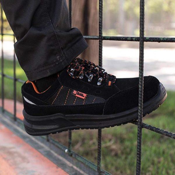 Baskets de sécurité Black Hammer S1P SRC 9952